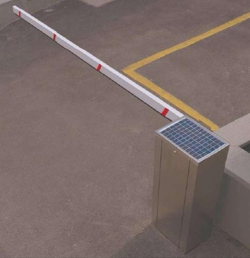 Solar barrier